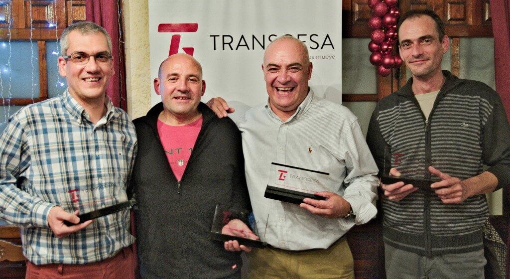 Los premiados Transgesa 2015