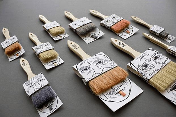 Packaging Pinceles
