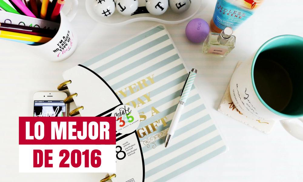 Lo mejor del blog 2016