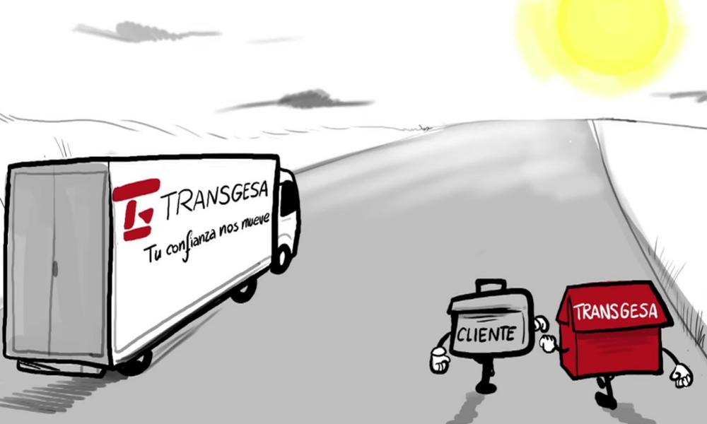Transgesa, empresa de transportes de madrid