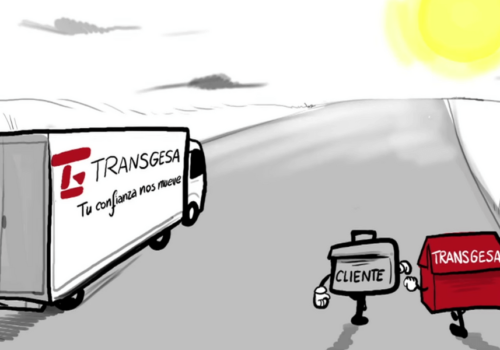 Transgesa, 30 años de una empresa de transportes de Madrid
