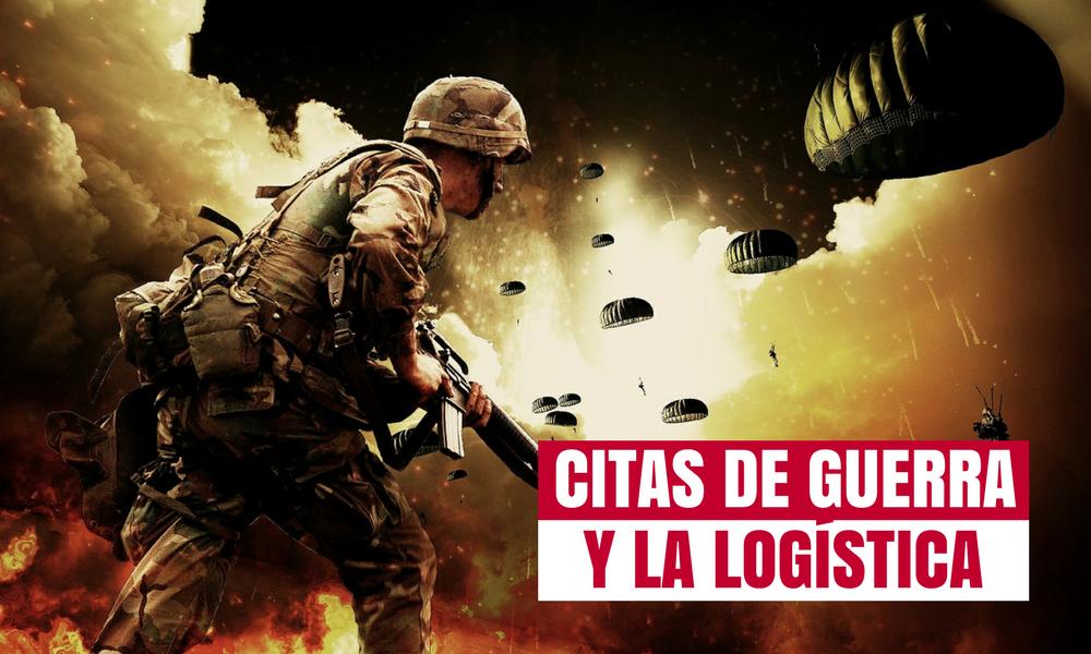Citas guerra y logística