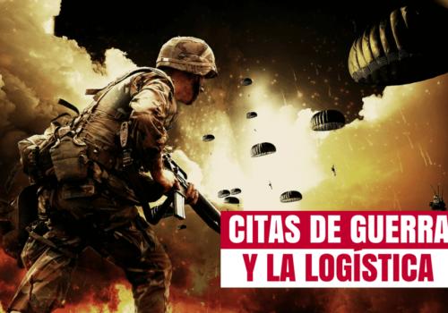 Las mejores frases sobre la logística y la guerra
