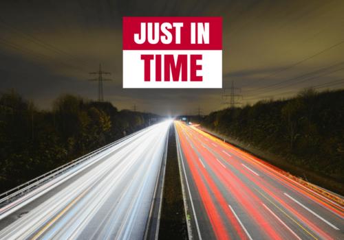 Just In Time; la logística justo a tiempo
