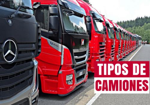 Transporte terrestre y tipos de camiones