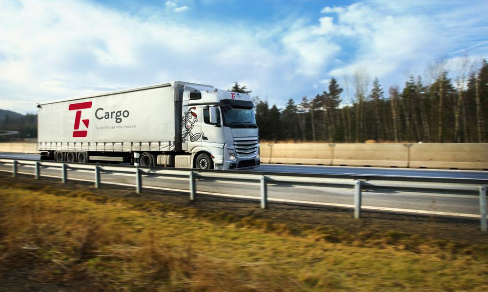 Camión de Transgesa Cargo