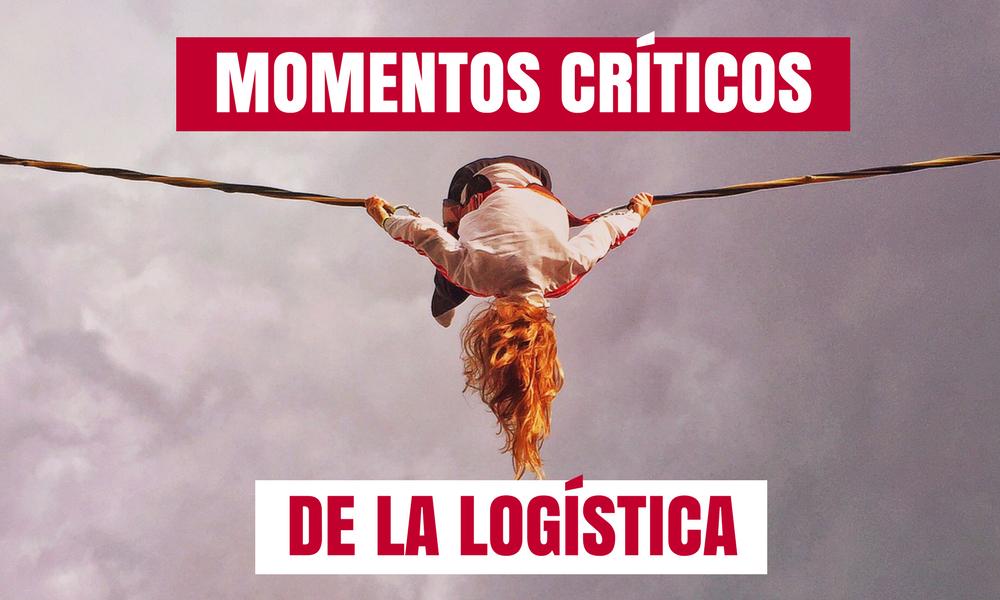 Cinco momentos críticos con una empresa logística