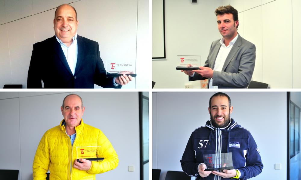 Los ganadores de los premios Transgesa