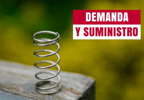 Cómo adaptar la demanda al suministro