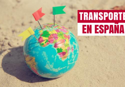 Todos los datos del transporte en España
