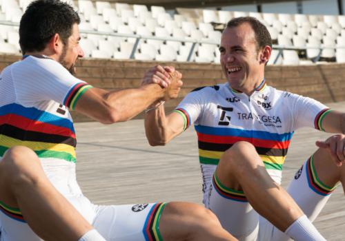 «Recordamos una y otra vez el sprint que nos hizo campeones del mundo»