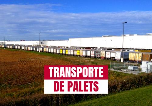 Tres cosas que necesitas saber sobre el transporte de palets nacional