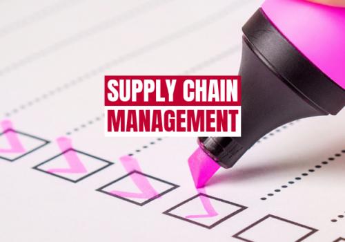 Qué es el Supply Chain Management