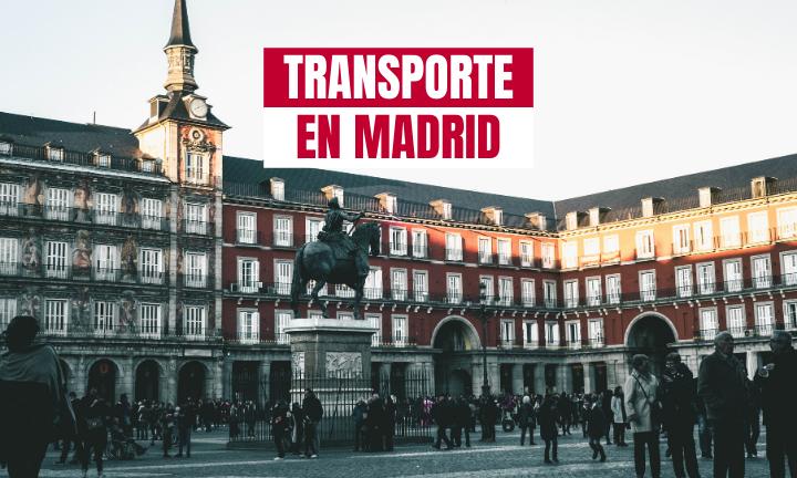 transporte de mercancías en Madrid