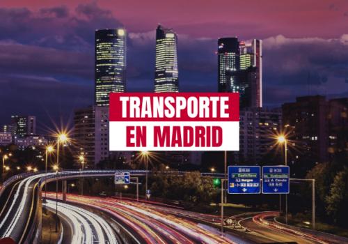 Cuatro cosas a las que se enfrentan las agencias de transporte en Madrid