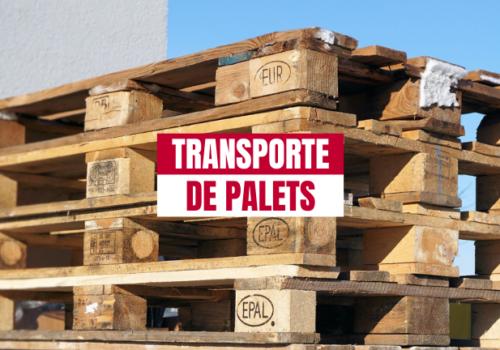 En qué debe ayudarte tu empresa de transporte de palets