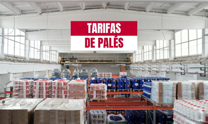 TARIFAS DE TRANSPORTE DE PALETS
