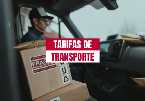 Tarifas de transporte de palets: sus componentes fundamentales