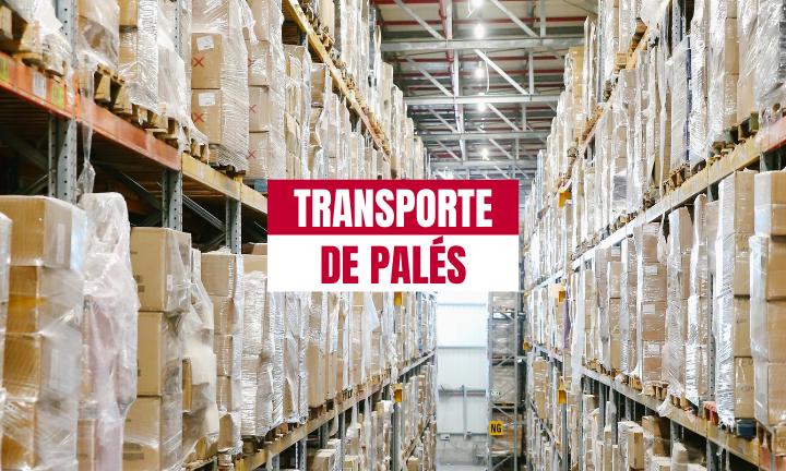 transporte de palés