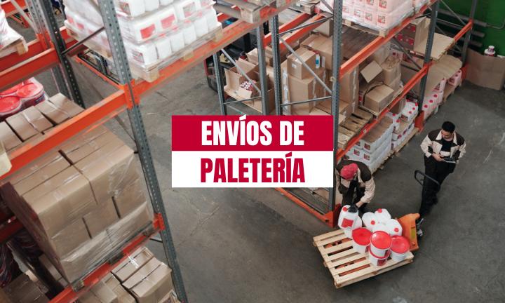 ENVIOS DE PALETS EN ESPAÑA
