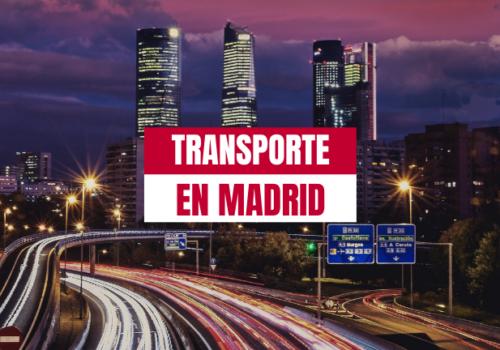 Cuatro realidades a las que se enfrentan las empresas de transporte en Madrid